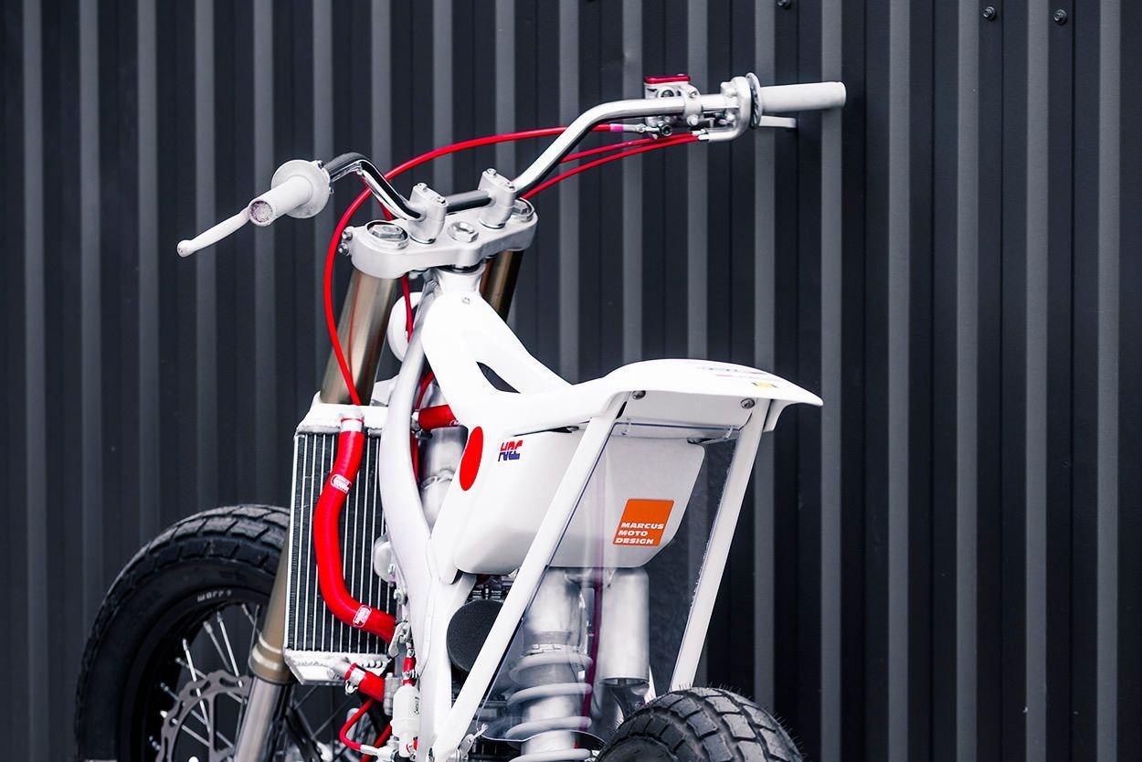 Swedish minimalism: Marcus Moto Design\'s Honda Tracker | Ja ja ...