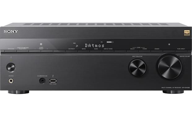 Sony STR-DN1080 7.2-channel home theater receiver with Wi-Fi®, Bluetooth®, Dolby Atmos®, and DTS:X