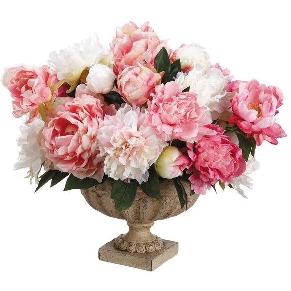 Allstate floral peonypeony bud faux flower arrangement found on allstate floral peonypeony bud faux flower arrangement found on polyvore mightylinksfo