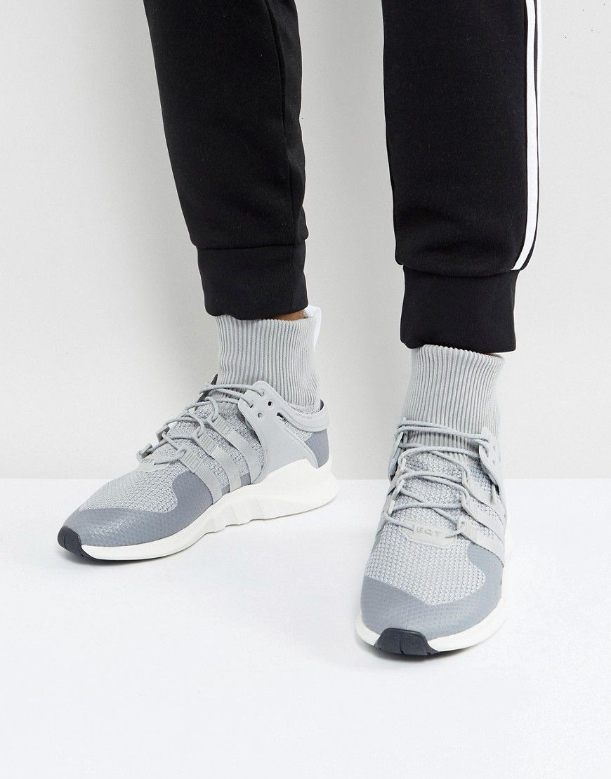 the latest 6442a e0eb8 ADIDAS ORIGINALS EQT SUPPORT ADV WINTER SNEAKERS IN GRAY ...