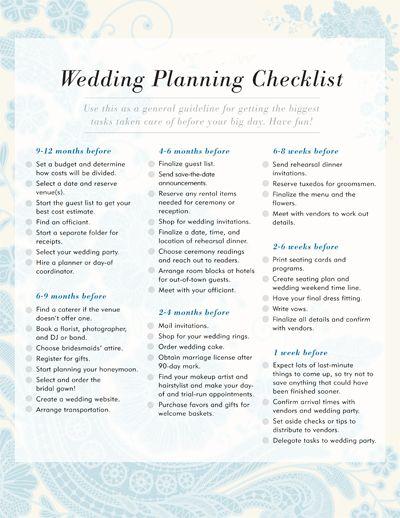 wedding planning checklist wedding centerpieces pinterest
