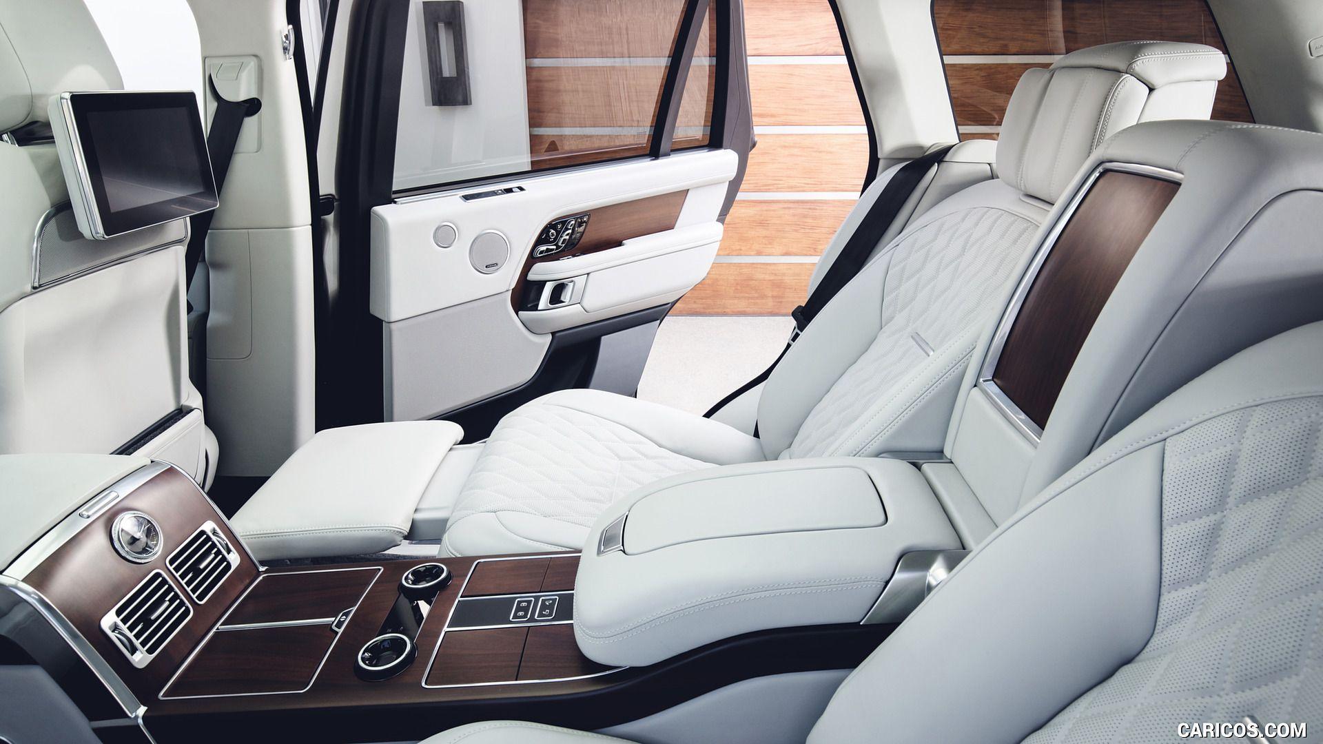 Photo of 2019 Range Rover P400e Plug-in Hybrid – Interior, Rear Seats HD