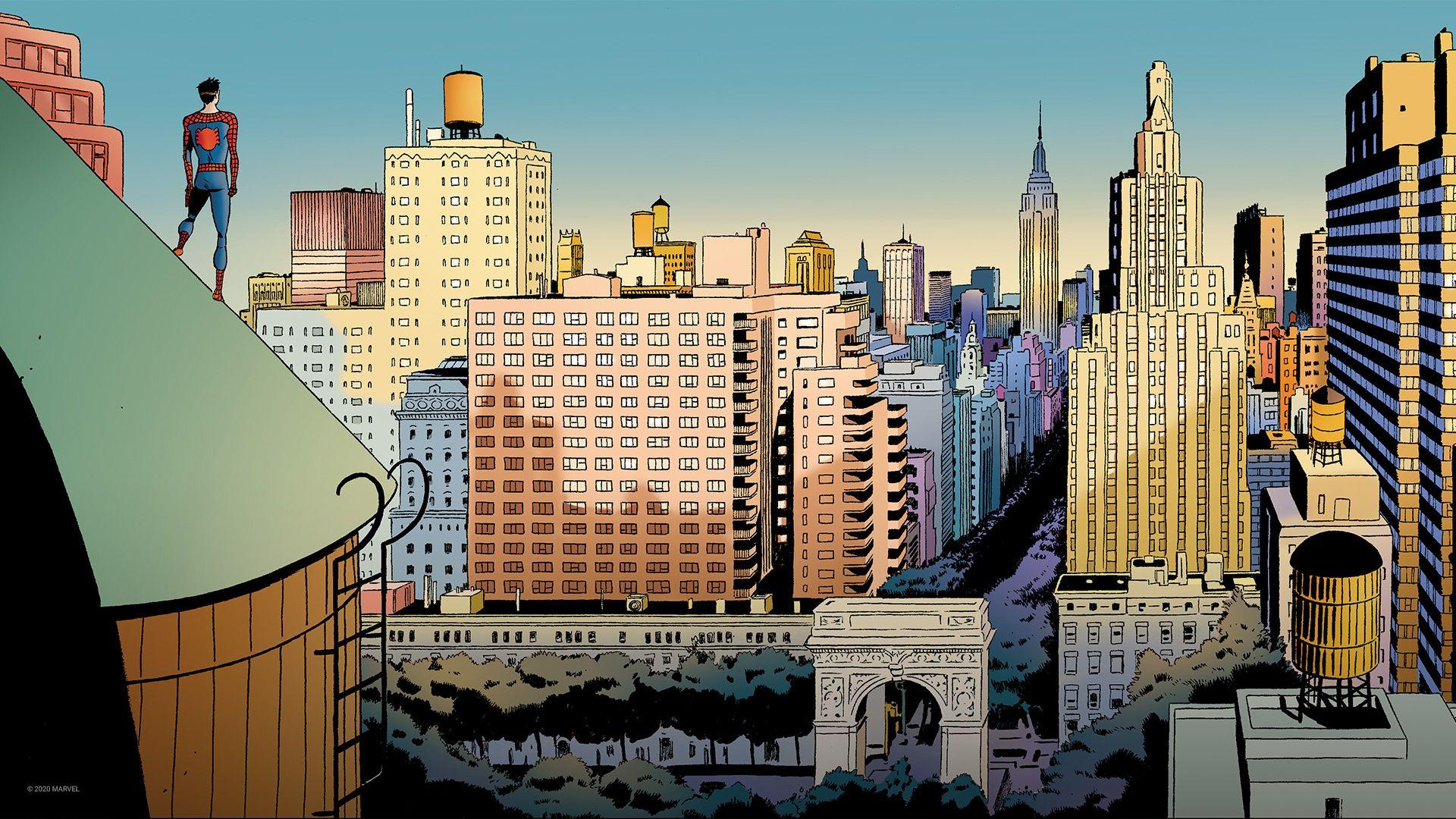 Pin By Hailee Johnston On Backgrounds Wallpaper New York Marvel