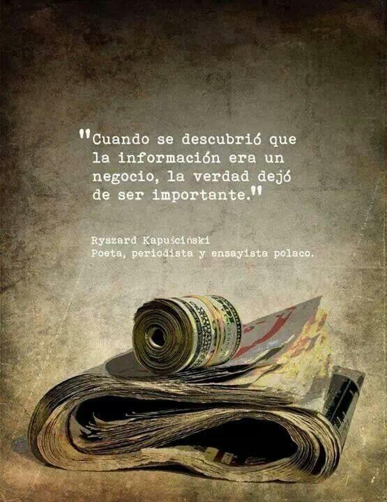 El valor de la verdad.
