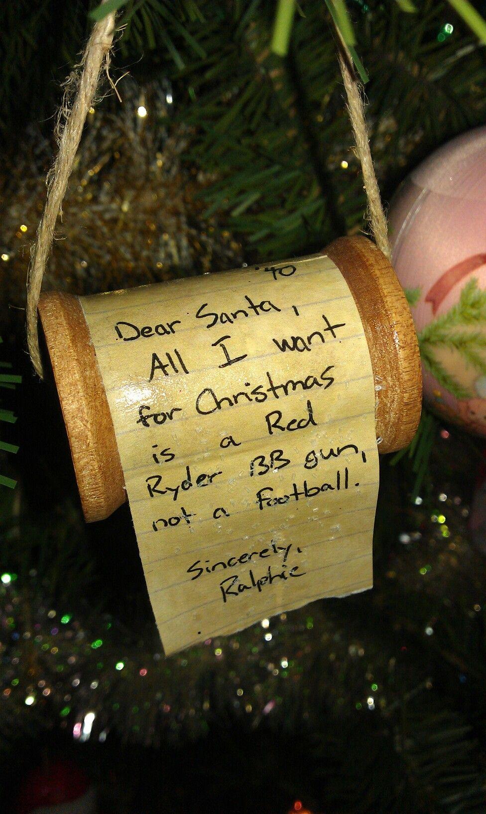 Ralphies letter to santa ornament christmasstory things ive ralphies letter to santa ornament christmasstory spiritdancerdesigns Choice Image