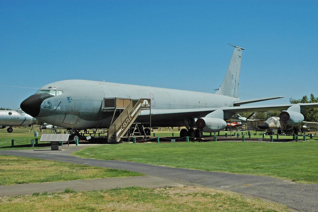 Boeing KC135 Stratotanker at the Castle Air Museum