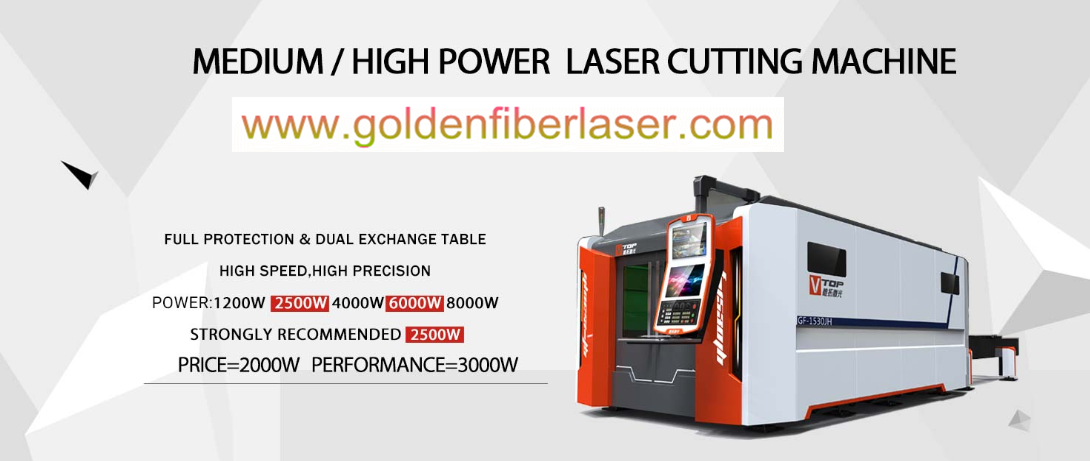 GF-JH series 6000W 8000w laser cutter is equipped with