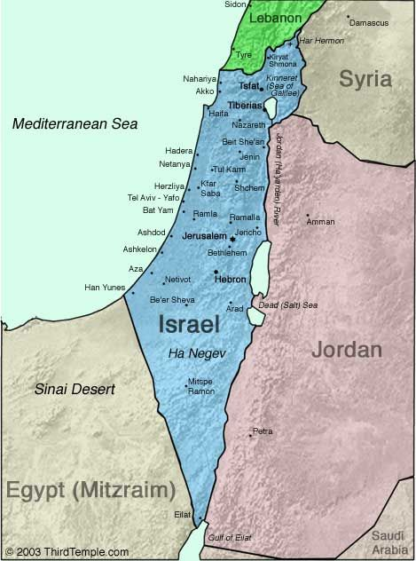 Map Of Israel And Surrounding Areas Hebrew Pinterest Israel - Israel maps