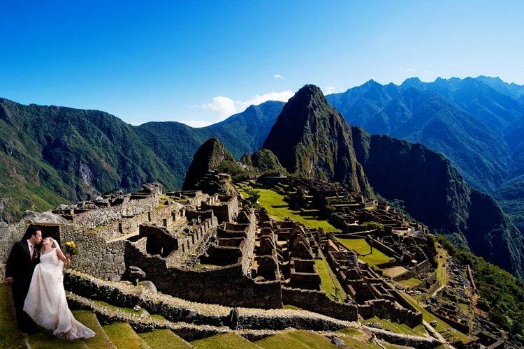 Destination Wedding In Peru Machu Picchu