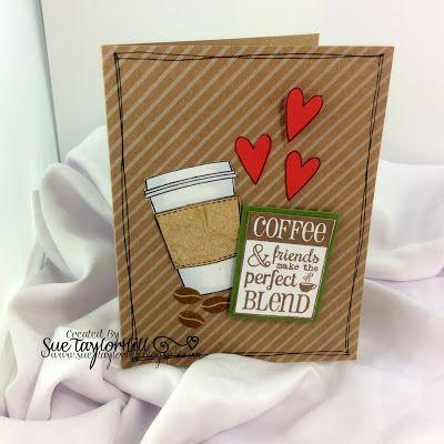 GERTSGOODS: Coffee Lovers Blog Hop- Second Card