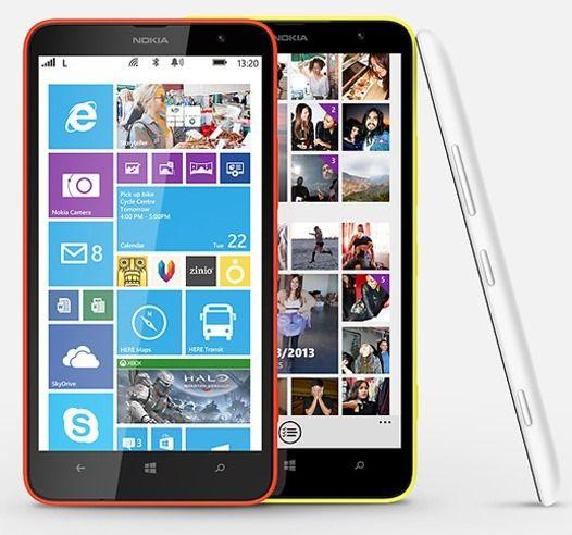 Планшетофон Nokia Lumia 1320