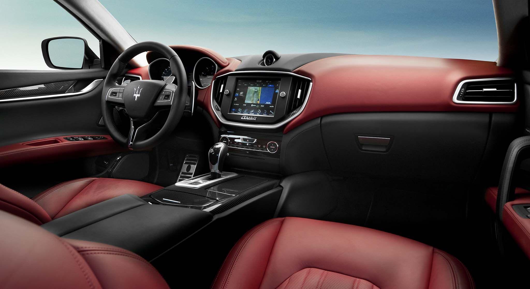 2014 Maserati Ghibli S Q4 Interior | Overpowering | Pinterest ...