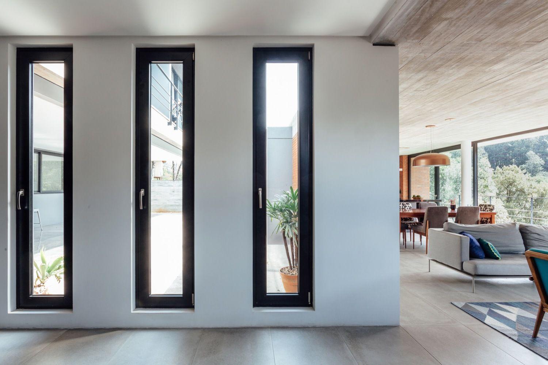 Gallery Of Pereira Narvaes House Sucra Arquitetura Design 35 House Window Design Modern Window Design House Extension Design