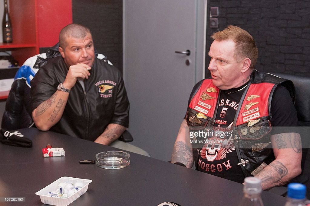 Hells angels supporters