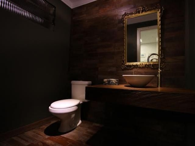 """Com tacos descartados e madeira de demolição, lavabo vira """"um sonho de banheiro"""" - Arquitetura - Campo Grande News"""