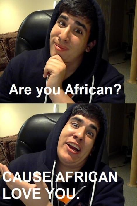 Are you African?