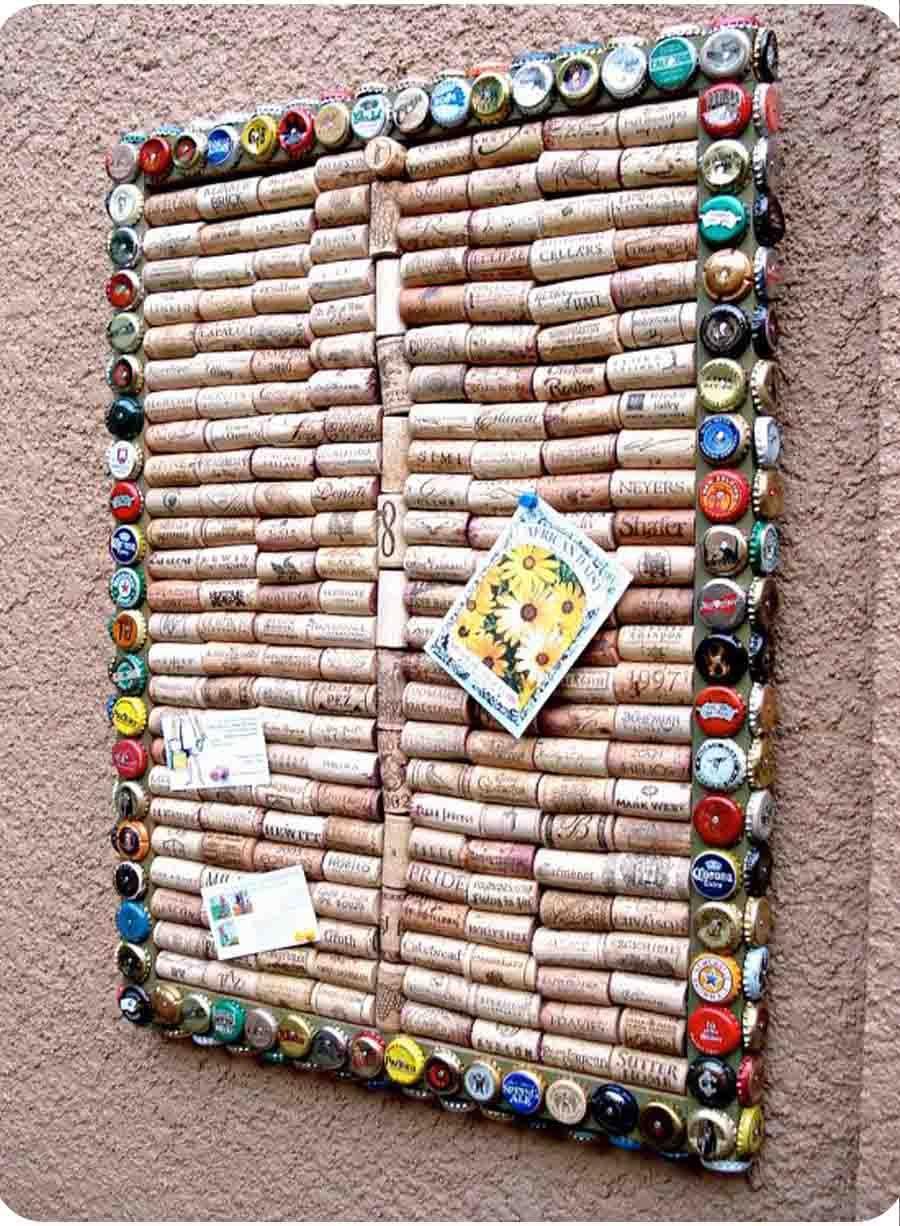 Wine cork pin board   Gallery Ideas   Pinterest