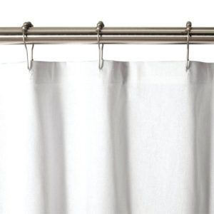 Solid Stainless Steel Shower Curtain Rod