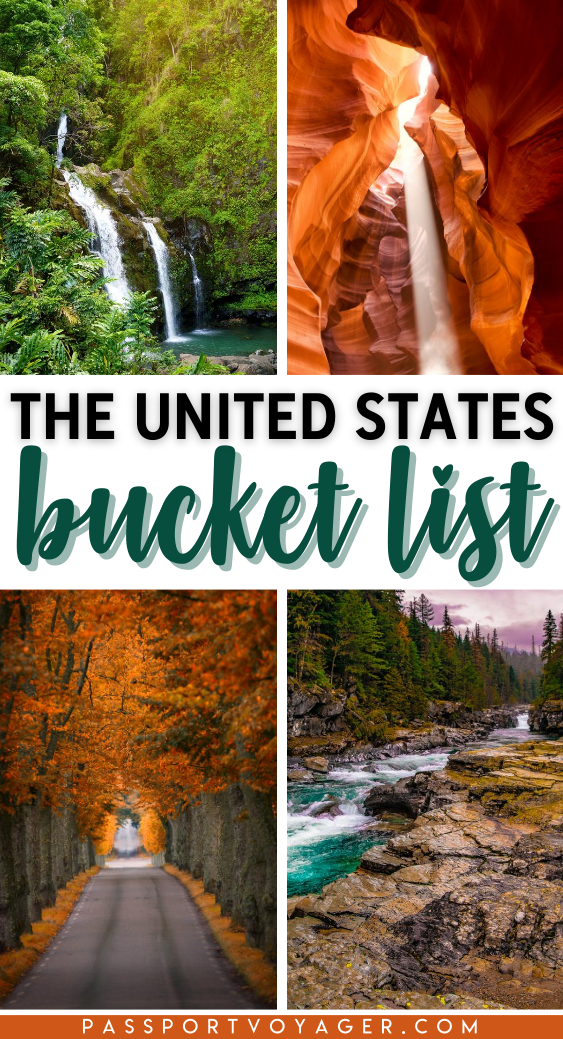 Got an itch to travel around the USA? Save this amazing post to help you plan your trip! Stunning landscapes, charming small towns, epic national parks and much more! Features the most incredible destinations in the USA. Created by travel experts, it includes iconic American landmarks to secret, hidden gems. | Things to do in USA | Best attractions in USA | When is the best time to visit USA | Where to stay in USA | #Travel #USA #USATravel #domestictravel #USAbucketlist