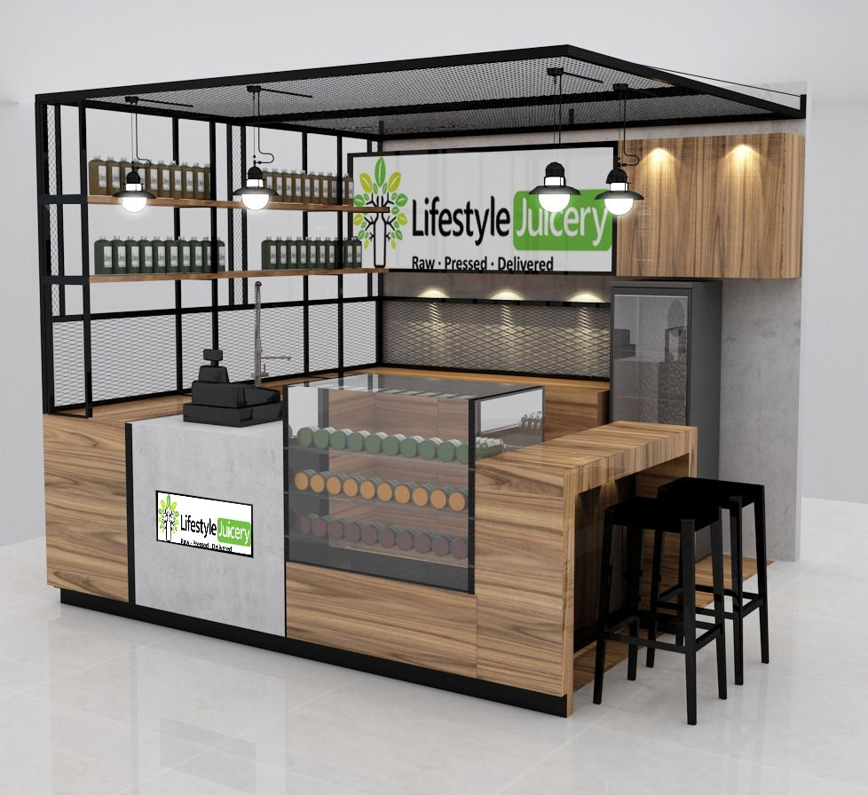 A proposal to Lifestyle Juicery for their first Kiosk in