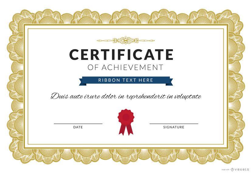 Certificate Of Achievement Maker Ad Ad Affiliate Maker Ach Certificate Of Achievement Template Certificate Of Achievement Certificate Design Template