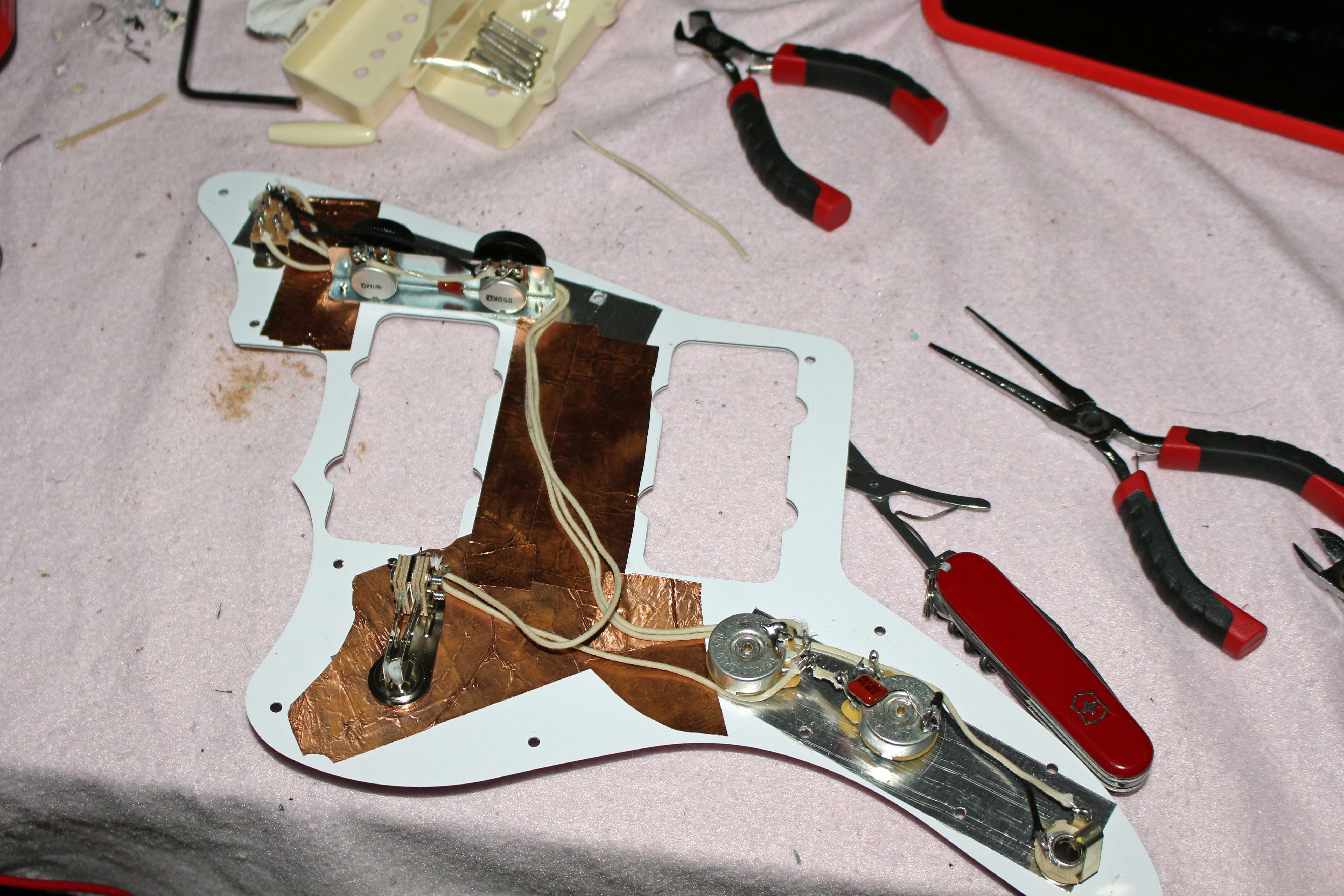 medium resolution of fender jazzmaster wiring mods blacktop