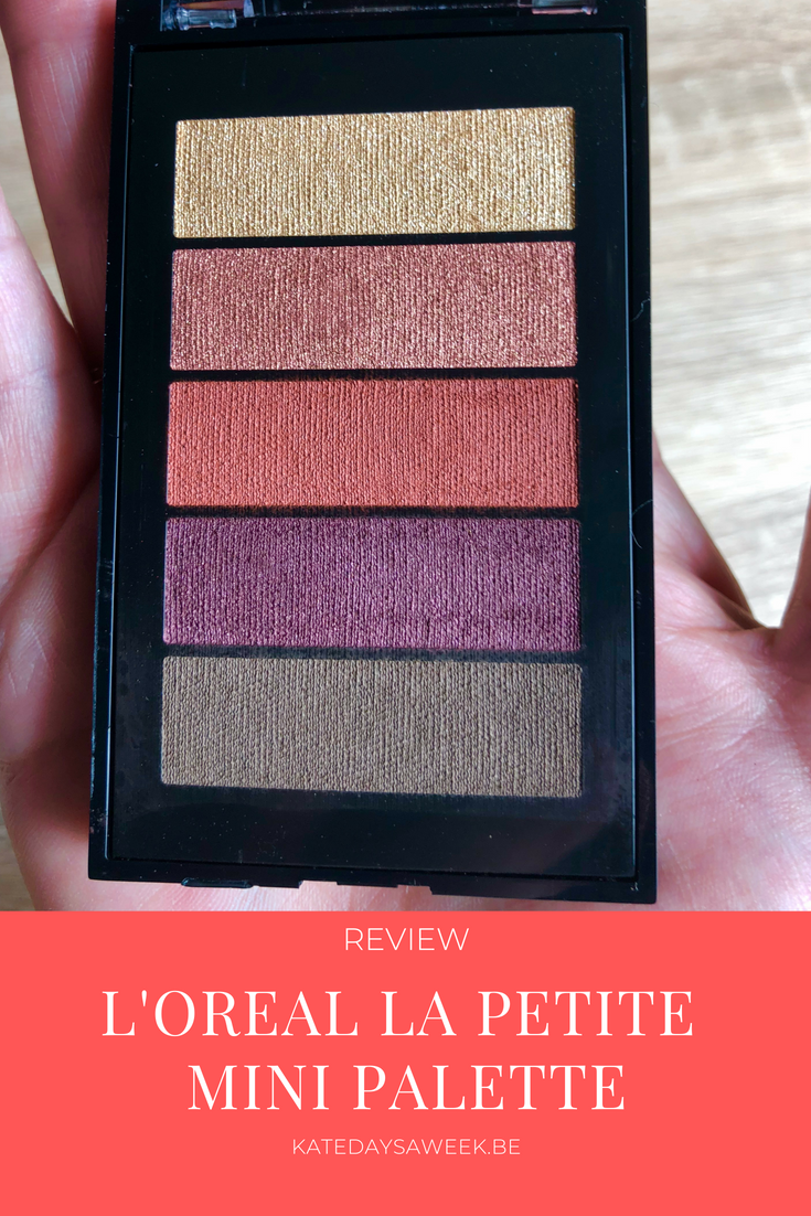 La Petite Mini Eyeshadow Palette Maximalist Review Loreal Lamp039oreal Infallible Total Cover Foundation Makeup Warm Shades