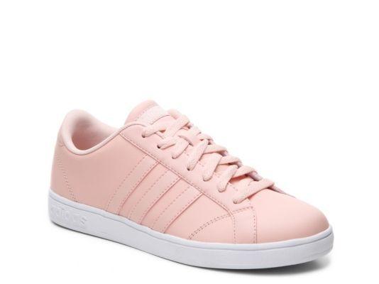 Women\u0027s adidas NEO Baseline Sneaker - - Pink