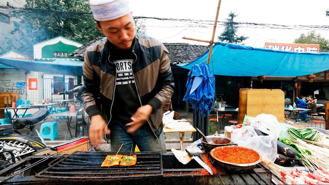Chinese Street Food Tour In Chengdu China Best Street Food In China Youtube Chinese Street Food Street Food Best Street Food