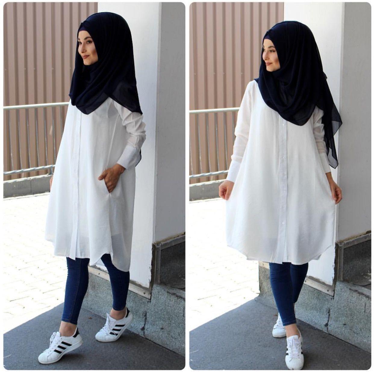 Pin by Ammara on H I J A B F A S H I O N  Muslimah fashion