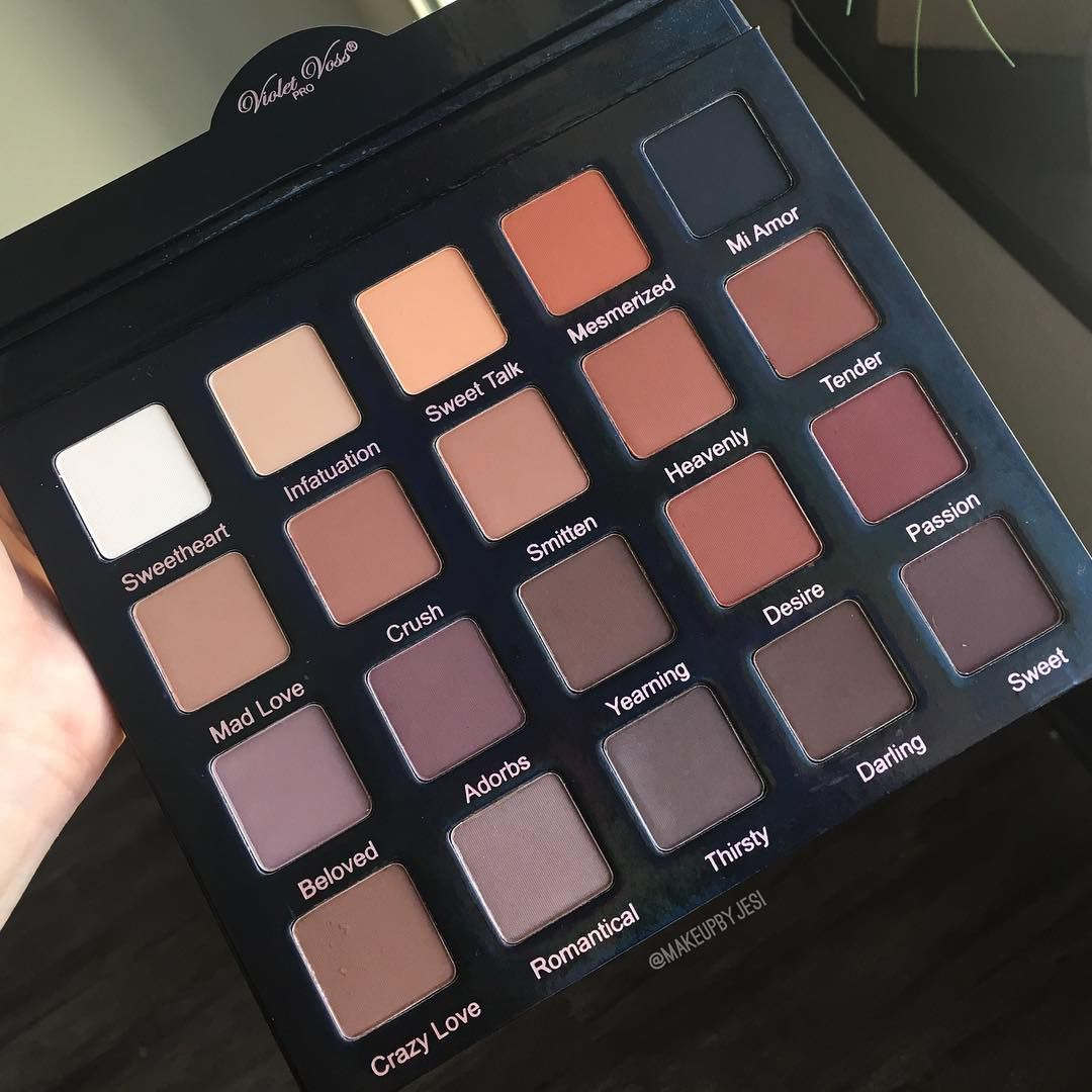 Matte About You Pro Eyeshadow Palette by Violet Voss Cosmetics #19