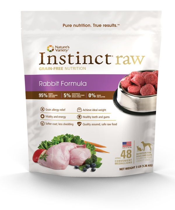 Nature's Variety Instinct Raw Frozen Diet for Dogs and