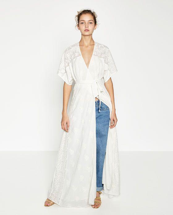 Mujer CruzadoWishlist4 Largo CruzadoWishlist4 Largo Vestido Mujer Zara Zara Mujer Zara Vestido QrdxsthC