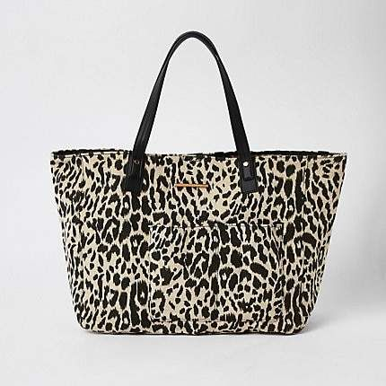 a90f6c7052e4 A simple design perfect for quick packing and departure: Animal print calf  hair tote bag by @Gap | Leopard <3 in 2019 | Animal print fashion, Bags, ...