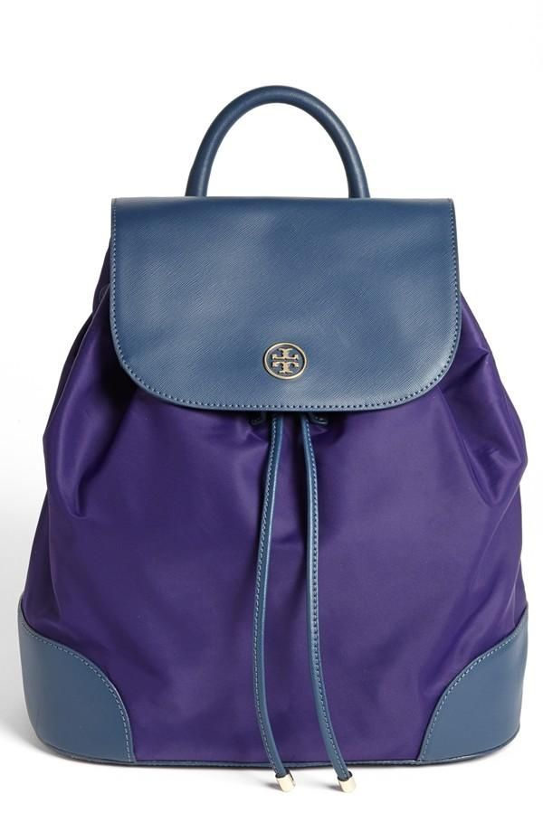 Fun colorblock Tory Burch backpack!   Style   Pinterest   Le féminin ... 915d600f9d08