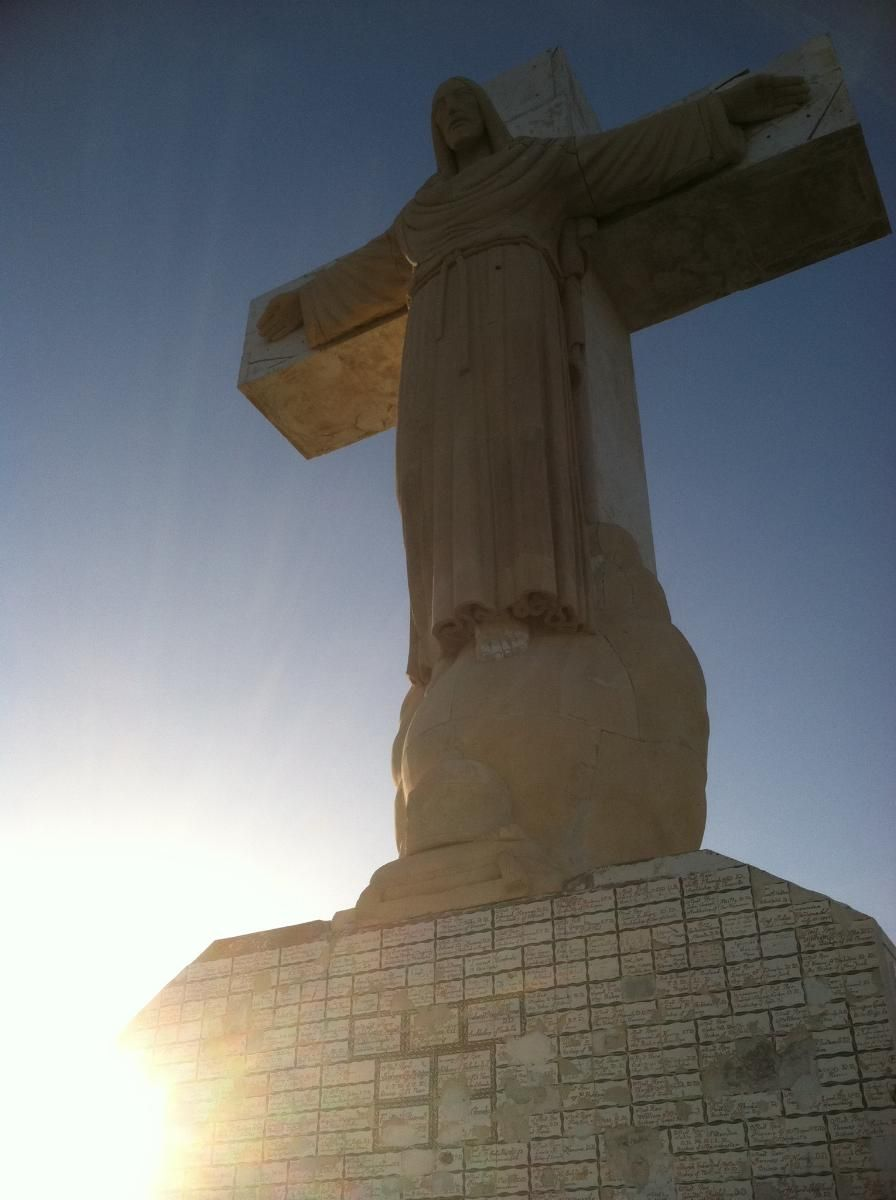 Mt. Cristo Rey in El Paso, Texas. Wow. This looks like it may make a ...