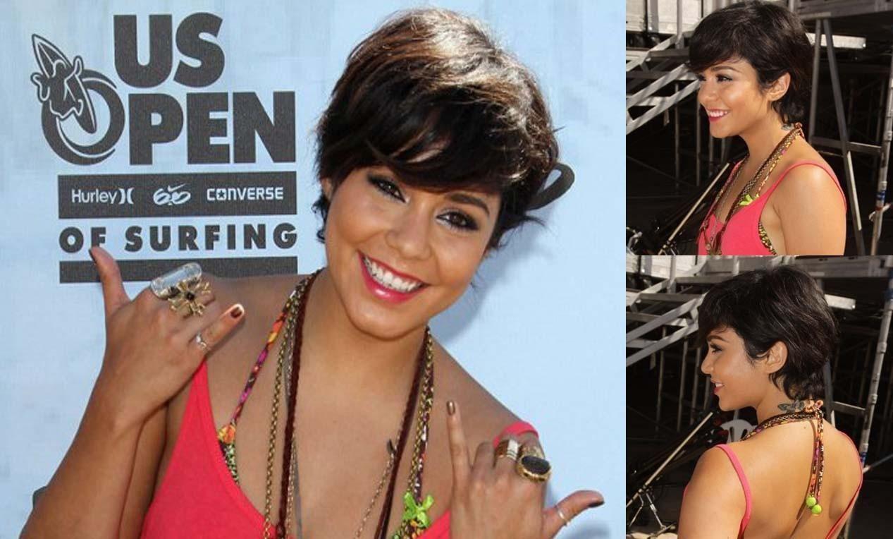 Vanessa Hudgens New Short Haircut Hair Cut Hair Pinterest