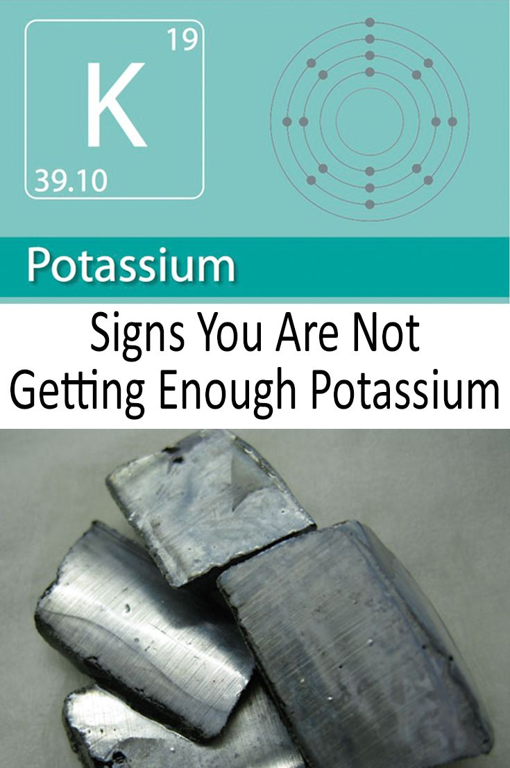 Signs You Are Not Getting Enough Potassium   Health Matters