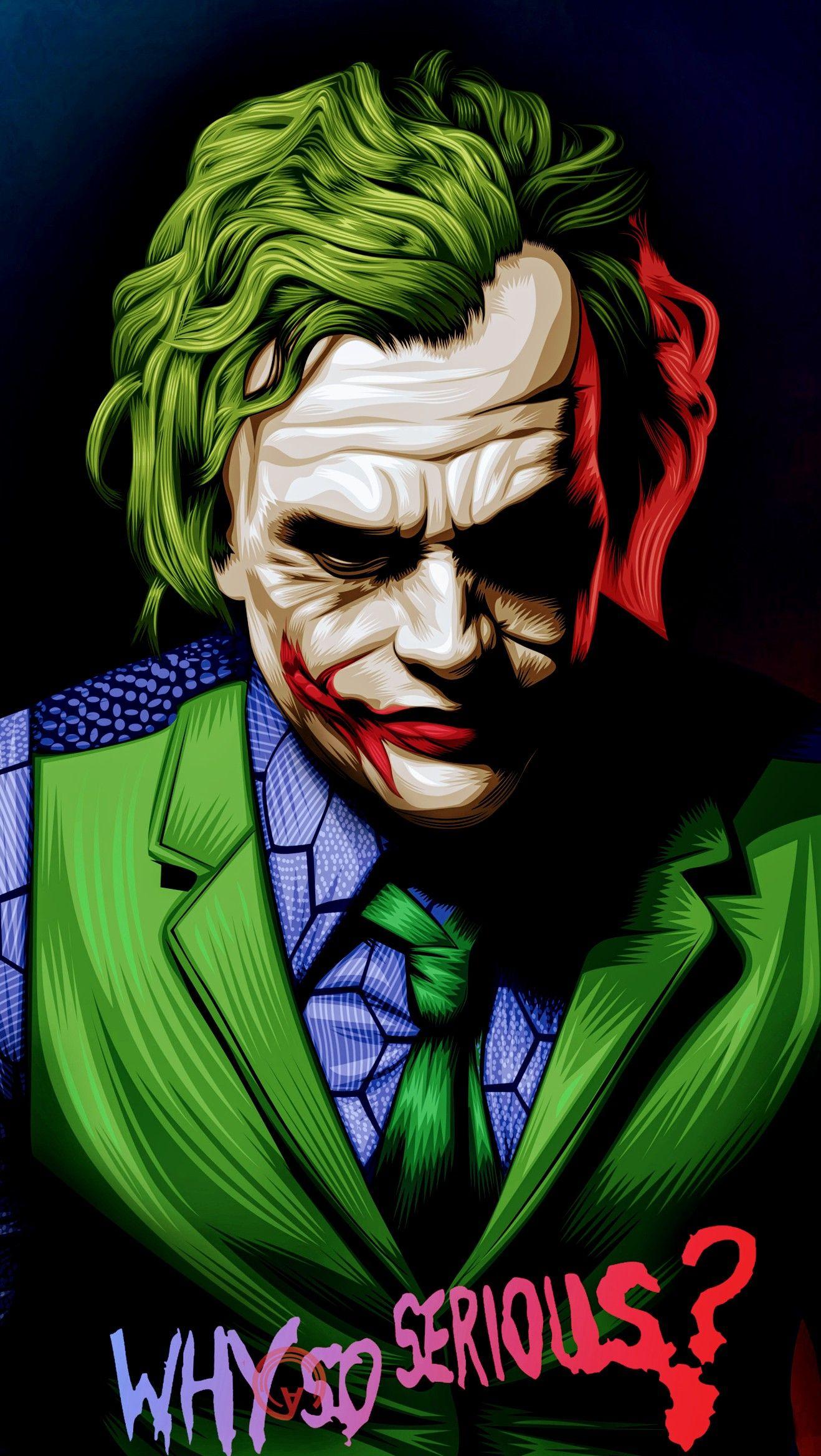 The Joker Why So Serious Joker Wallpapers Batman Joker Wallpaper Joker Hd Wallpaper