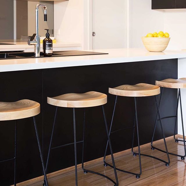 New to Mocka - Legna Stool Give your dining area a lift with the Mocka Legna Stool. The modern mix of wood and metal makes this bar stool a welcome addition to any home and will ensure you stand out amongst the crowd (or in this case sit!). Pre-order Now