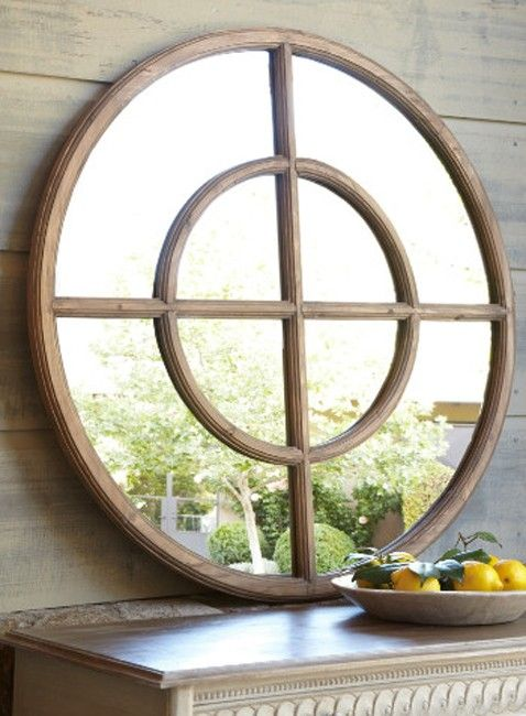 Eliseo Round Wall Mirror - treasurecombers | Home decor ...