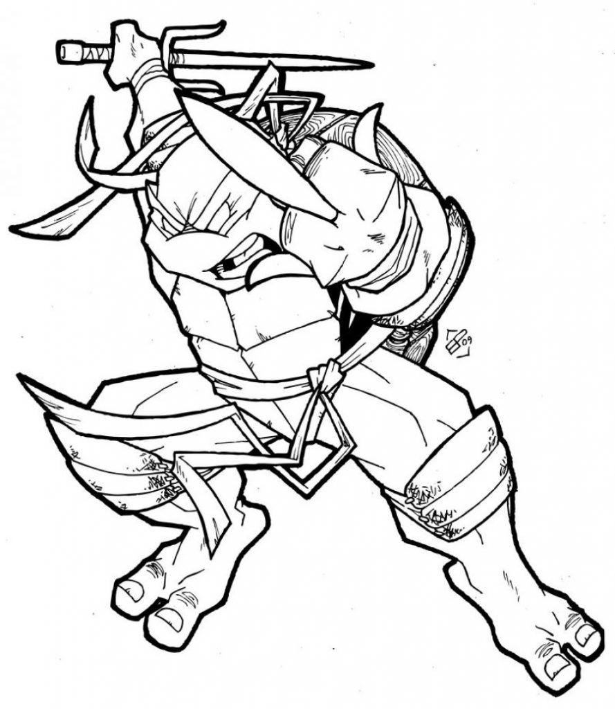 Myndanidurstada Fyrir Coloring Teenage Mutant Ninja Turtles Out Of The Shadows Okt Kartun Dan Gambar
