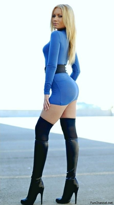Sexy star trek outfit