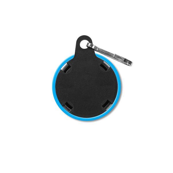 1.25 Inch Round Custom Zipper Pulls Back
