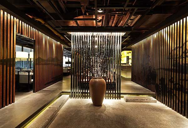 Japanese restaurant interior design ideas