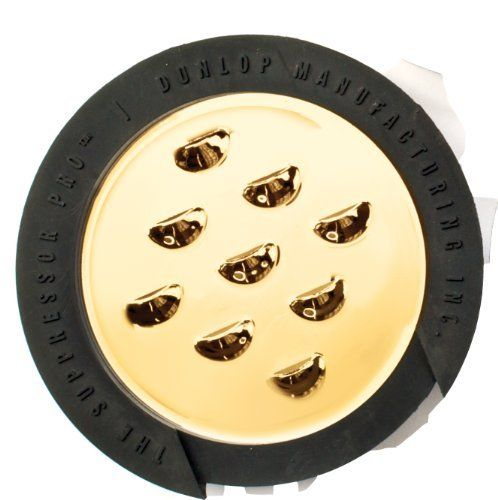 Dunlop The Suppressor Pro Sound Hole Cover 9 Hole Gold By Jim Dunlop 14 97 The Dunlop Suppressor Pro Reduces The Amoun Rubber Rings Ring Fit Acoustic Guitar
