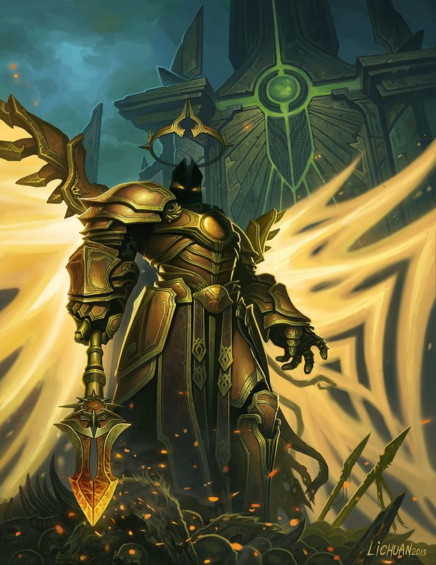 imperius archangel of valor 23 awesome works of diablo 3 fanart you need to see