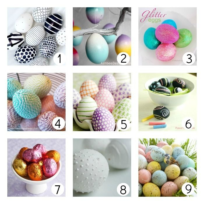 Family easter traditions old new creative eggs and Creative easter egg decorating ideas