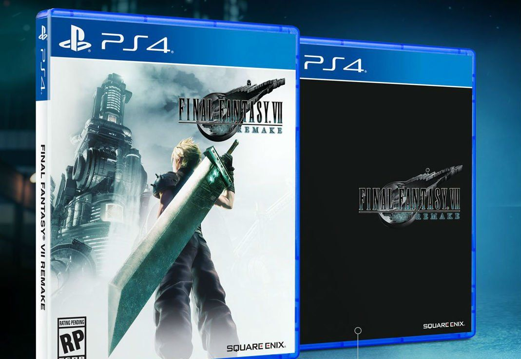 If you don't like the Final Fantasy VII Remake box art don