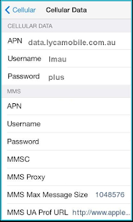 New Lycamobile apn settings iPhone | Apn Settings
